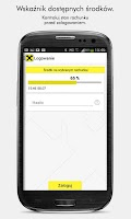 Screenshot of Mobile Bank