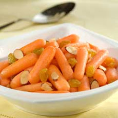 Honey Carrots With Toasted Almonds