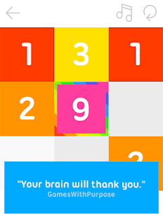 9 - a Puzzle Made of Numbers Screenshot