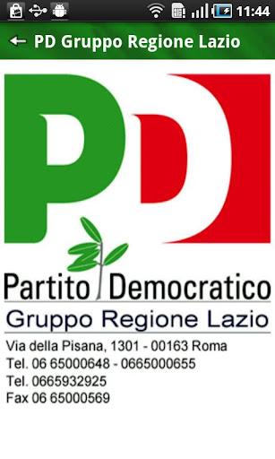 PD Gruppo Regione Lazio