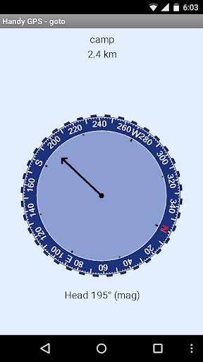 Handy GPS - screenshot