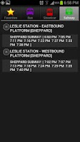 Screenshot of SmartTransit