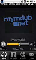 Screenshot of MYMC Radio