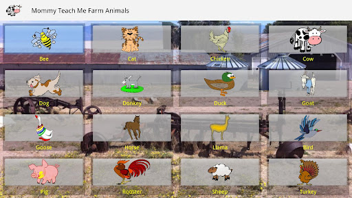 Mommy Teach Me Farm Animals