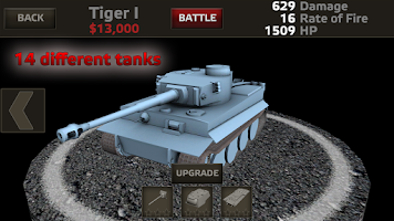 Screenshot of Tanks:Hard Armor