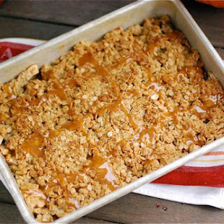 Caramel Apple Ginger Crumble for Fall {Naptime Everyday}