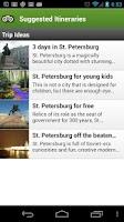 Screenshot of St Petersburg City Guide