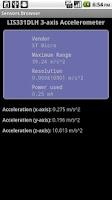 Screenshot of Sensors Browser