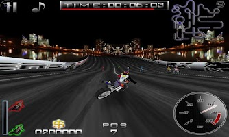 Screenshot of SuperBikers Free