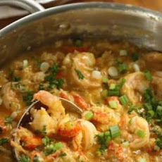 Cajun Crawfish and Shrimp Etouffe