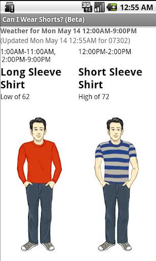 Can I Wear Shorts Beta