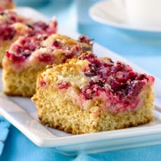 All-Bran Cranberry Crumble Coffee Cake