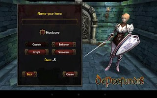 Screenshot of DeProfundis