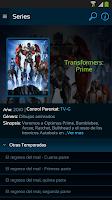 Screenshot of Movistar TV GO