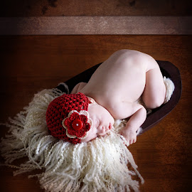 Skye by Stacie Hogan - Babies & Children Babies ( natural light, texture, infant, newborn, hat )