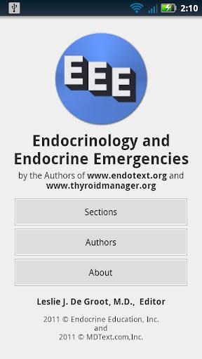 Endocrinology Endo Emergency