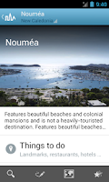 Screenshot of New Caledonia Guide by Triposo