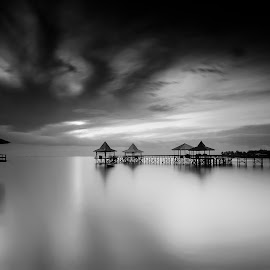 by Didit Aryono - Black & White Landscapes