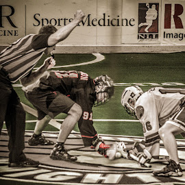 Game ON! by Enrique Santana Carballo - Sports & Fitness Lacrosse ( ref, sports, vancouver, lacrosse, rochester )