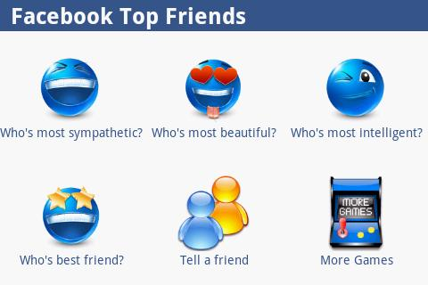 Facebook Top Friends