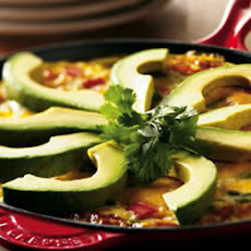 Avocado Holiday Frittata