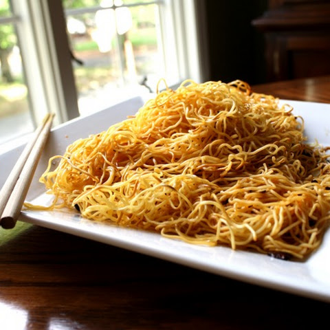 SIMPLE, SPICY PAN-FRIED NOODLES
