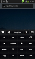 Screenshot of Simple Keyboard Black