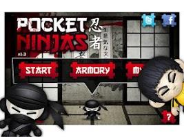 Screenshot of Pocket Ninjas