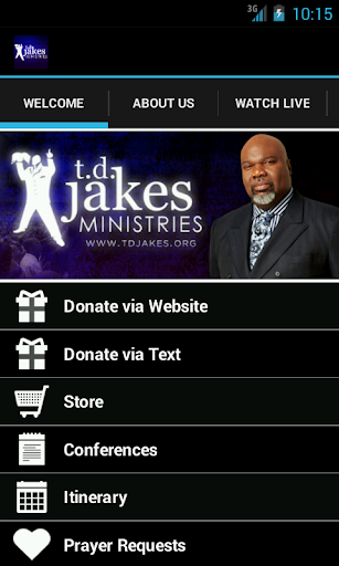 bishop-t-d-jakes-ministries for android screenshot