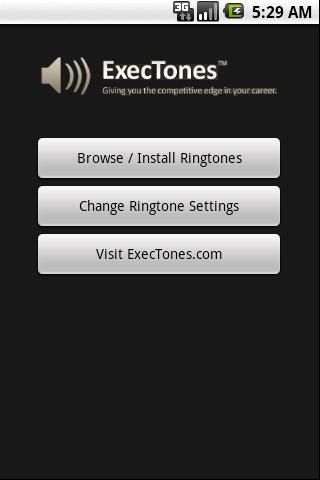 商務手機鈴聲 - ExecTones
