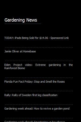 【免費教育App】Gardening News-APP點子