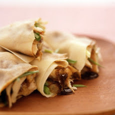 Asian-Style Chicken Wraps