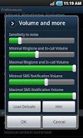 Screenshot of Cool Volume Free