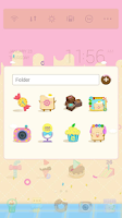 Screenshot of Candy house dodol theme