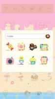 Screenshot of Candy house dodol theme