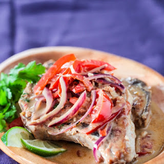 Thai Pork Chops with Ginger Coconut Sauce
