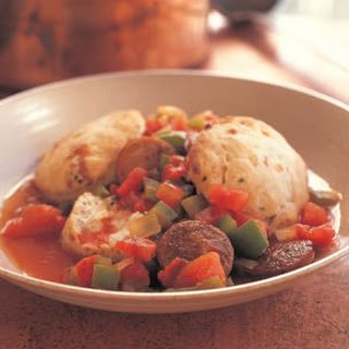 Cajun Stew with Biscuits