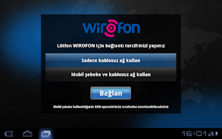 Screenshot of Turk Telekom Wirofon Tablet PC