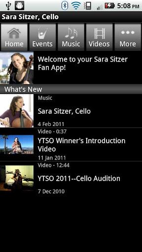 Sara Sitzer Cello
