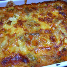 Scalloped Potatoes and Vegetables