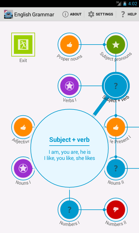 English Grammar Screenshot 2