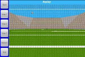 Screenshot of Curve Kick