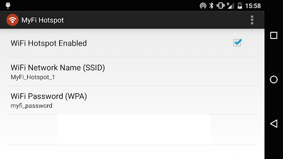 Download MyFi WiFi Hotspot - NO ROOT APK on PC | Download ...