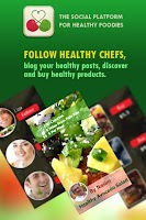 Screenshot of Healthy Food Network App