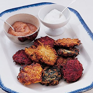 Spinach-and-Currant Latkes