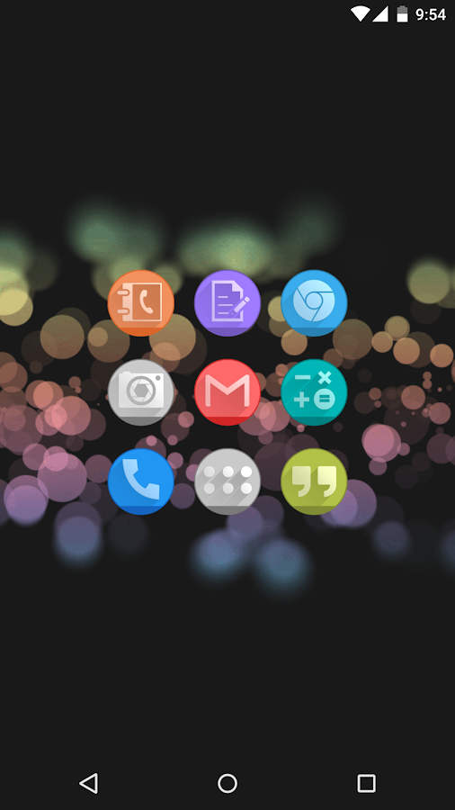Circlons - Icon Pack Screenshot 0