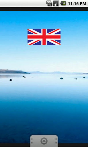 UK Flag Widget Sticker