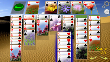 Screenshot of Solitaire 3D