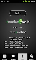 Screenshot of emotionMobile