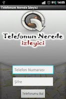 Screenshot of Telefonum Nerede - İzleyici